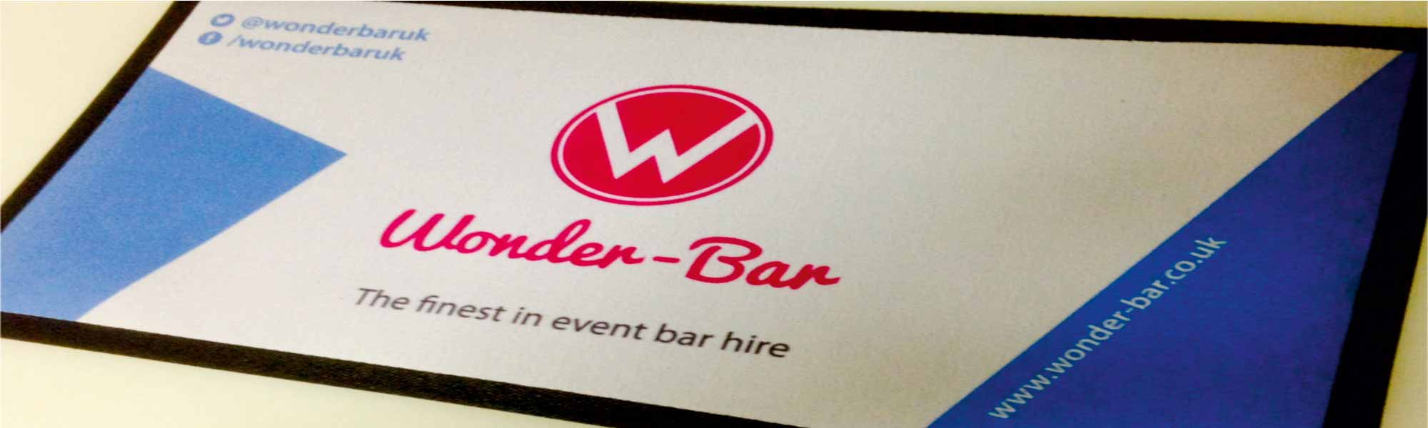 Wonder-Bar bar runner