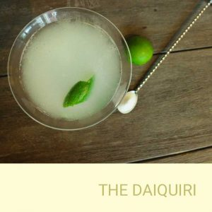 The Daiquiri bar hire package