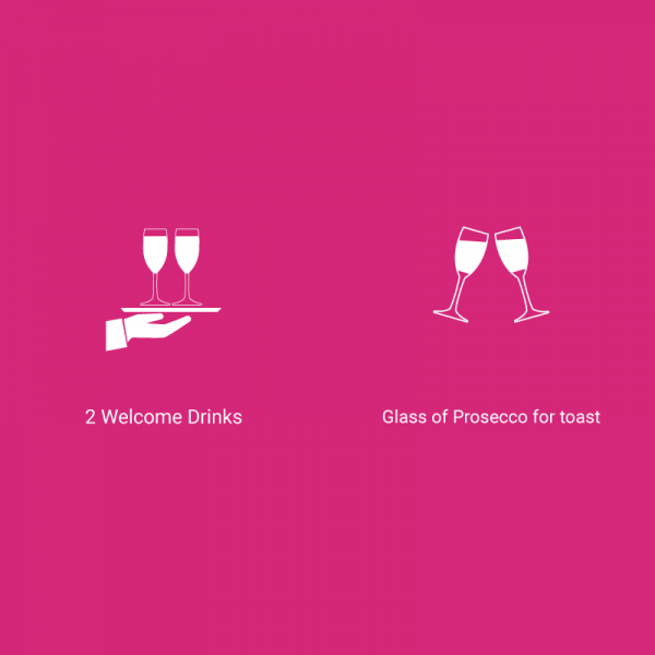 Two Welcome Drinks Package